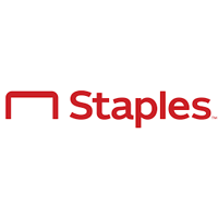 Staples Logo. Office supply retail stores.